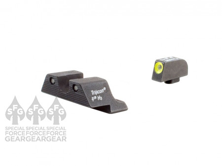 Trijicon Yellow  HD Night Sights (SP101Y) for Springfield & Sig Sauer