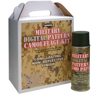 Military Digital Pattern Camouflage Kit #902