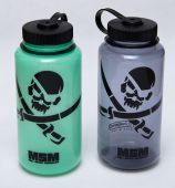 MSM Nalgene 1L Bottle PirateSkull