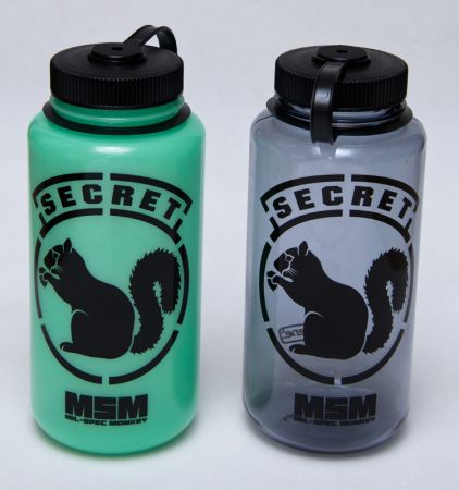 MSM Nalgene 1L Bottle Secret Sguirrel