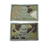 CALICO JACK SEAL PIRATE PATCH
