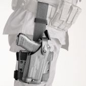 Safariland 6004 Tactical Leg Gun Holster w/ Streamlight M3 Light